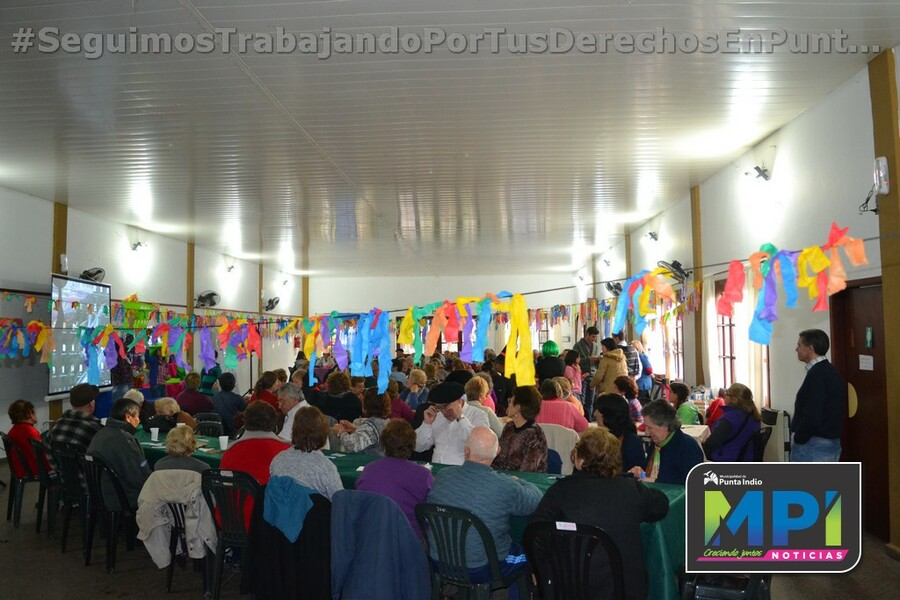 Jornada recreativa en Jubilados